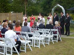 Wedding Service at Discovery Settlers Whangarei